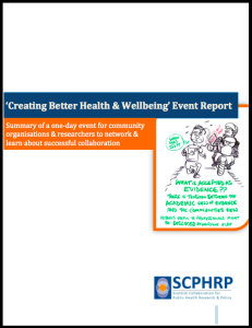 CreateHealth Report
