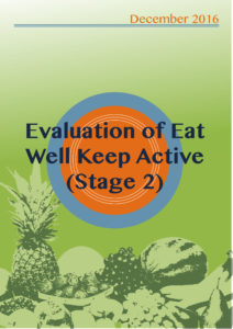 Eat well front cover
