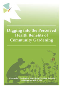 Health Benefits of Community Gardening cover