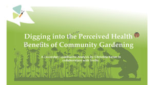 Health Benefits of Community Gardening cover2